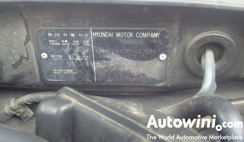 Used Car 2000 Hyundai Grandeur XG super S.Korea IC116545-Autowini.com