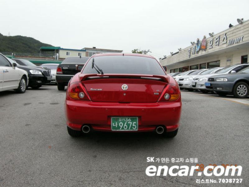 Used Car 2003 Hyundai Tuscani 2.0 GT Deluxe 2.0 GT Deluxe S.Korea ...