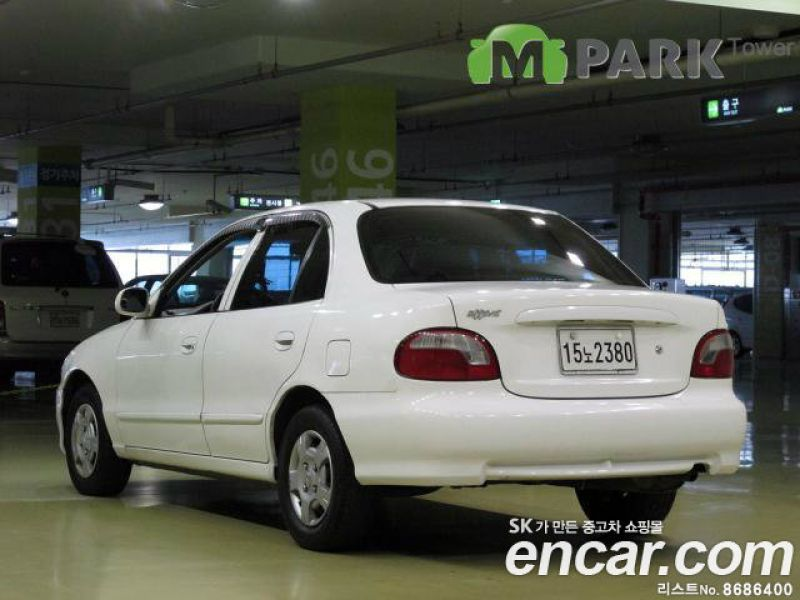 Used Cars 1998 Hyundai Accent 4DR 1.5 CS for sale from S.Korea