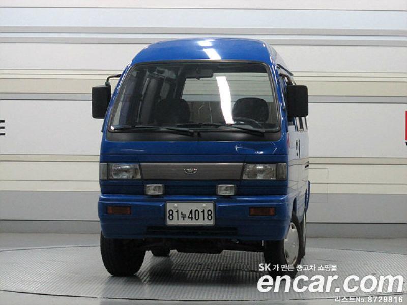 Used Cars 1999 GM Daewoo Damas LPG 5-Seater Glass-Van Super for ...