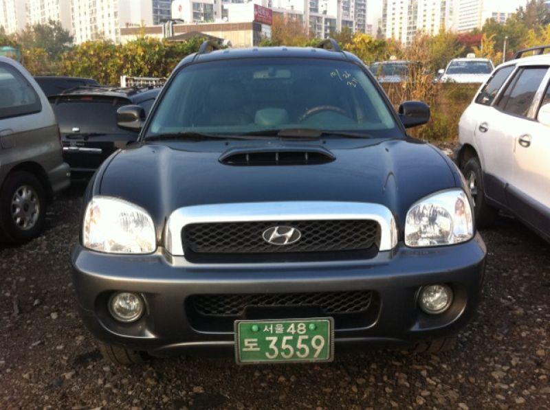 2002 hyundai santa fe gold car tuning