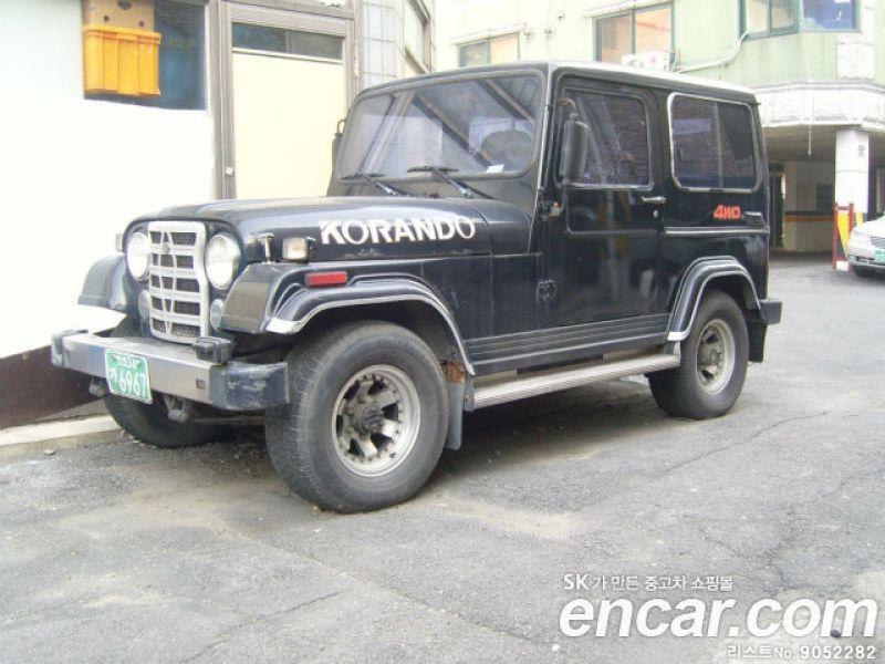 1990 Ssangyong Korando Jeep Jeep-6 RS
