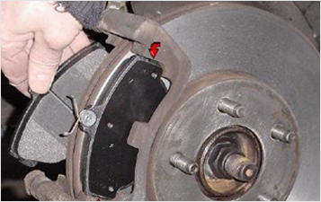Brake Pad Set Replacement