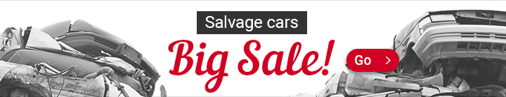 Salvage cars, Big Sale!