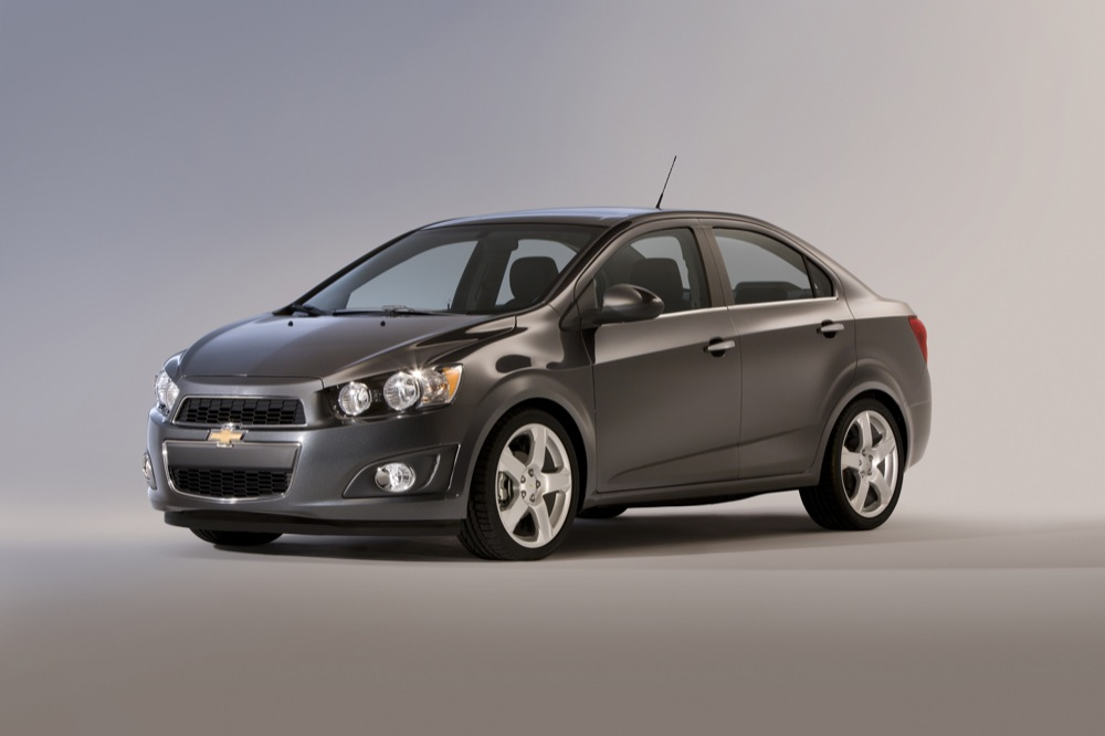 GM Daewoo (Chevrolet) Aveo Sedan 2012