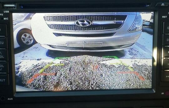DVD + Rear View Monitor